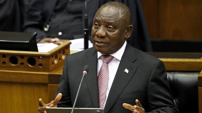 Südafrika: Cyril Ramaphosa als Präsident bestätigt