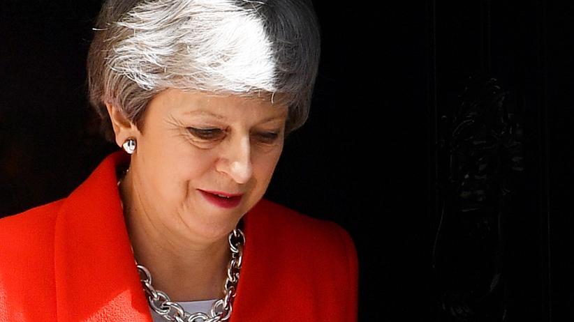 Britische Premierministerin: Theresa May wendet neue Tory-Revolte ab
