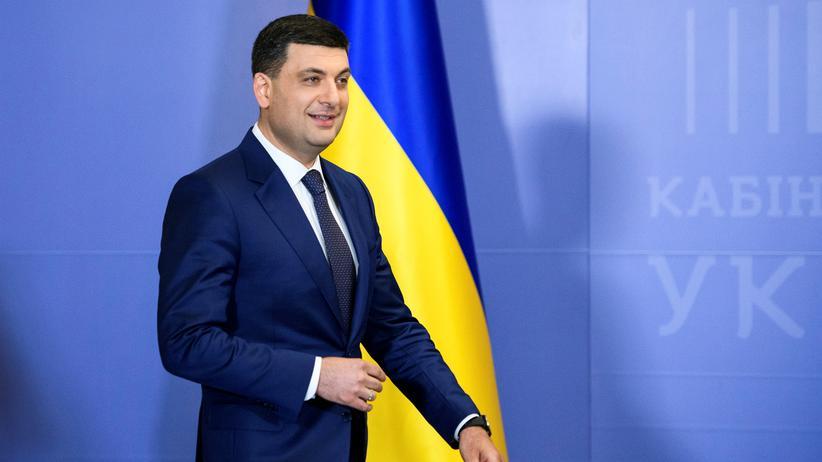 Ukraine: Ministerpräsident Wolodymyr Groisman kündigt Rücktritt an