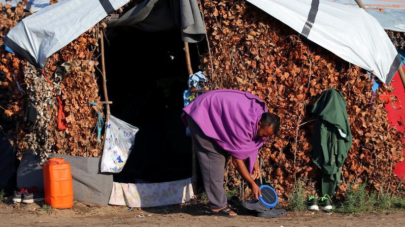 Menschenrechte: Ungarn verweigert Migranten Nahrung