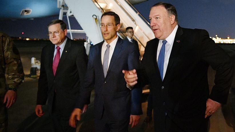 US-Außenminister : Mike Pompeo reist überraschend in den Irak