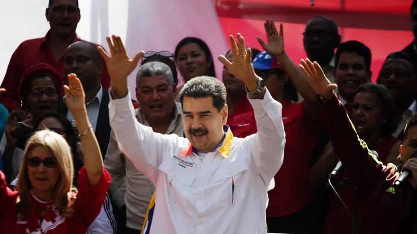 Venezuela: Venezuelas Präsident Nicolás Maduro