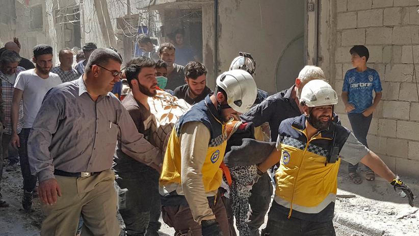 Syrien: Mindestens 27 Zivilisten bei Luftangriffen getötet