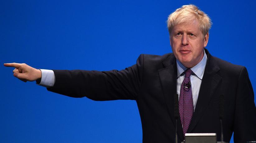 """Boris Johnson: """"Großbritannien wird auf keinen Fall Grenzkontrollen einrichten"""""""