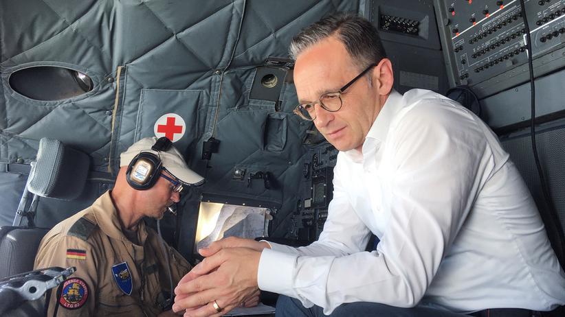 """Bundeswehr: Heiko Maas hält Mandat für Anti-IS-Einsatz für """"unabdingbar"""""""
