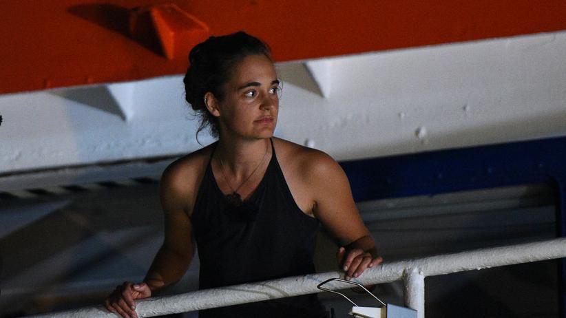 Migration: Carola Rackete, die deutsche Kapitänin der Seawatch-3