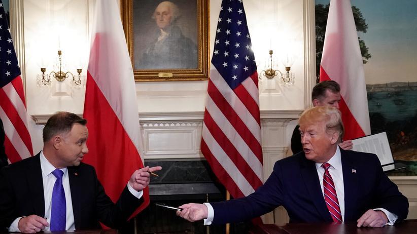 """Donald Trump: """"Fort Trump"""" in Polen hätte ihm gefallen"""