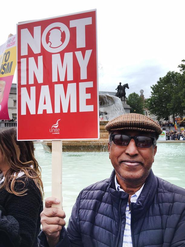 """Protest in London: """"Trump ist abscheulich"""""""