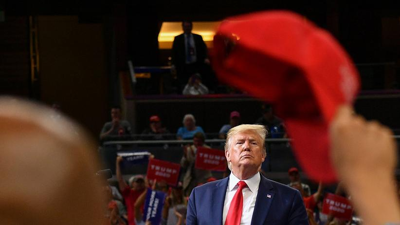 Donald Trump: Paraderolle rückwärts