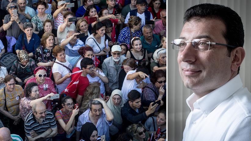 Ekrem İmamoğlu: Umfrageinstitut sieht vor Istanbul-Wahl Oppositionskandidaten vorn