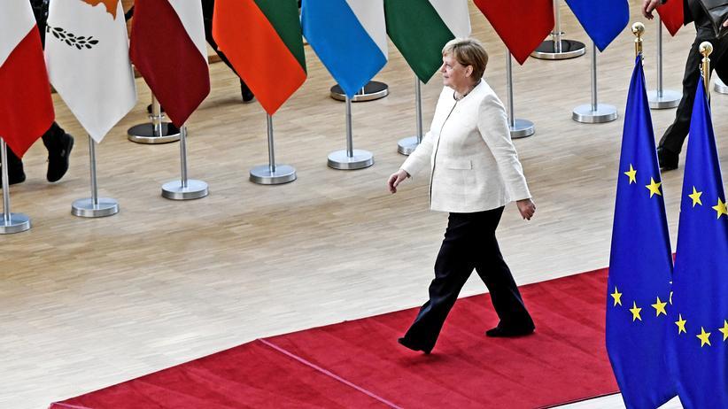 EU-Gipfel: Angela Merkel sieht keine rasche Entscheidung in EU-Personaldebatte
