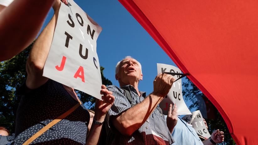 Demonstration Polen