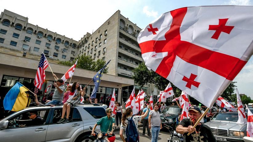 Georgien: Nur noch mehr Wut auf Russland