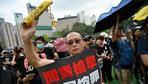Hongkong: Demonstranten in Hongkong versammeln sich zu neuem Massenprotest