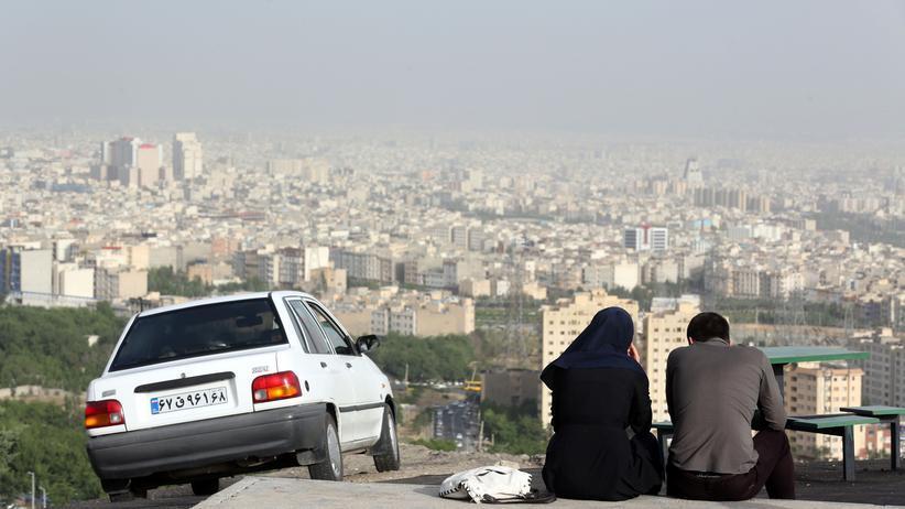 Teheran: Blick über Teheran