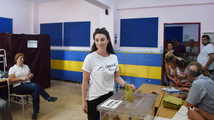 Türkei: Ein Wahllokal in Istanbul. In der Stadt leben fast 20 Prozent aller Türkinnen und Türken.