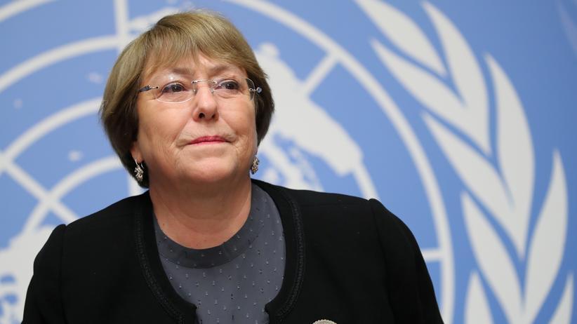 Venezuela-Krise: UN-Menschenrechtskommissarin Michelle Bachelet besucht Venezuela