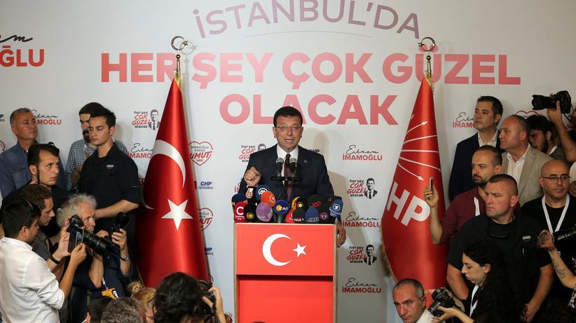Istanbul: Oppositionskandidat siegt bei Bürgermeisterwahl
