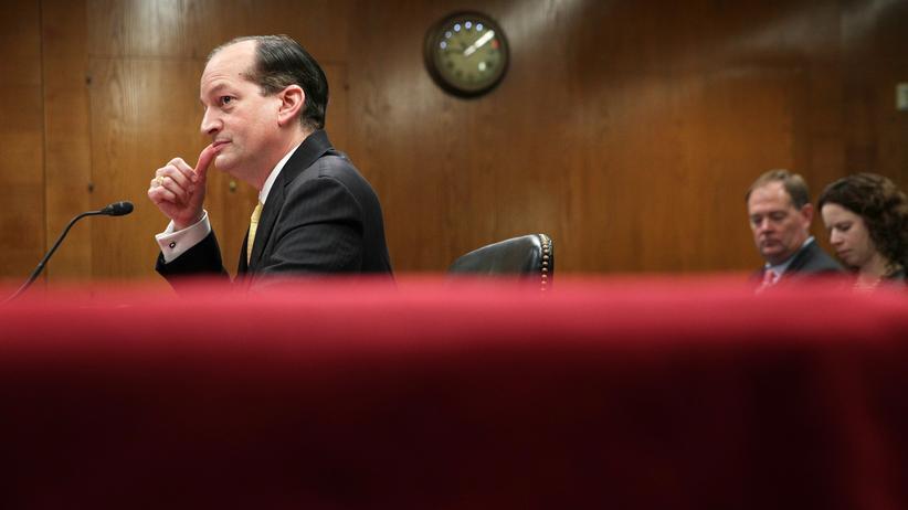 USA: Demokraten fordern Rücktritt von Trumps Arbeitsminister
