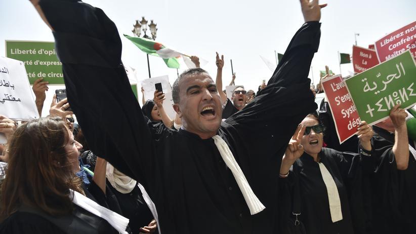 Nordafrika: Kundgebung in Algerien