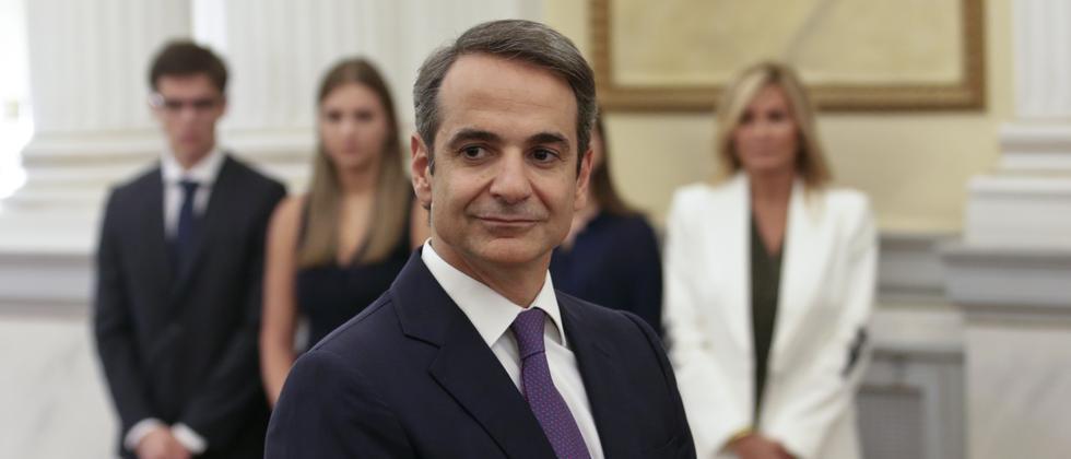 Nea Dimokratia: Neuer griechischer Ministerpräsident Mitsotakis vereidigt