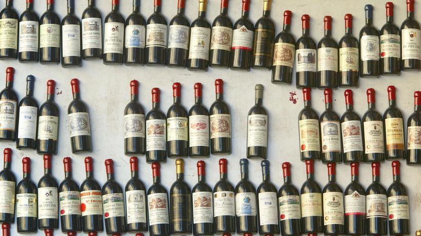 Frankreich Wein Steuer