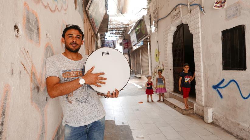 Gazastreifen: Hosam Khalaf alias Al-Mokh