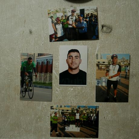 Gaza strip: Images of Alaa al-Daly prior to his injury