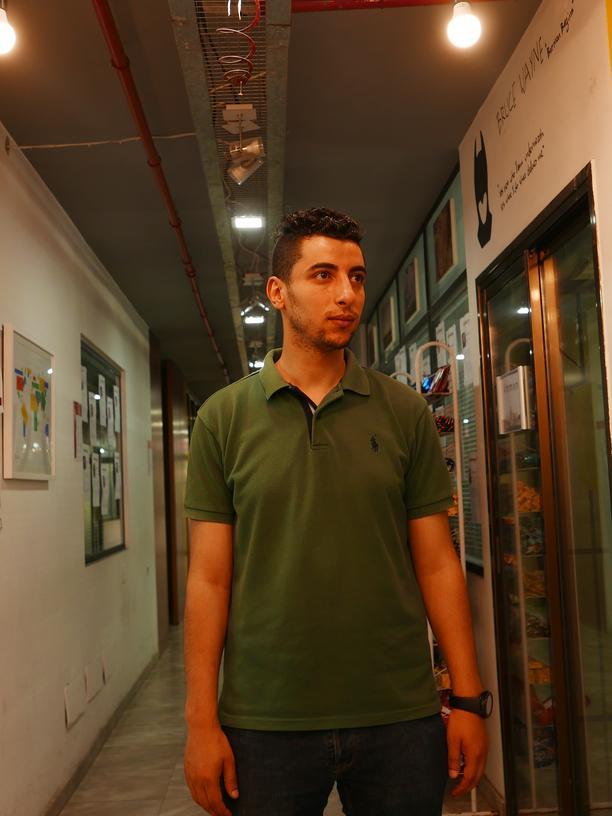 Gazastreifen: Nach Gaza zurückgekehrt: Iyad Altahrawi.