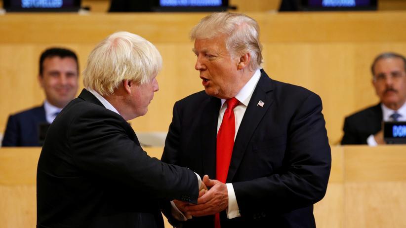 Großbritannien: Trump verspricht Johnson neues Handelsabkommen