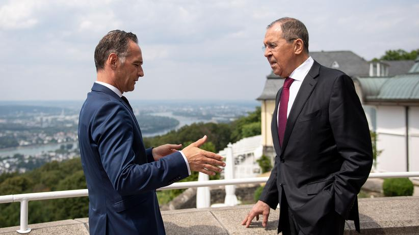 Petersburger Dialog: Heiko Maas verlangt von Russland Freilassung ukrainischer Matrosen