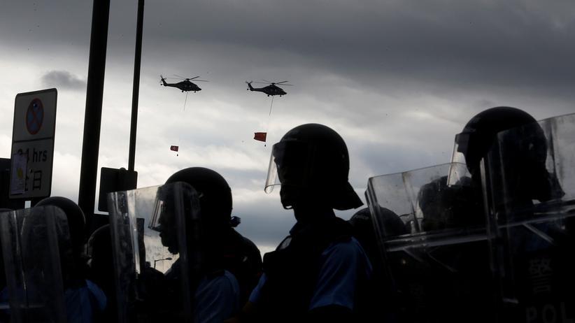 Hongkong: Die Polizei in Hongkong hat Sicherheitsbedenken für die Demonstration am Sonntag.