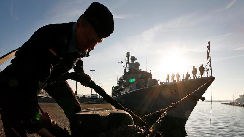 """Iran-Konflikt: Die deutsche Fregatte """"Bremen"""""""