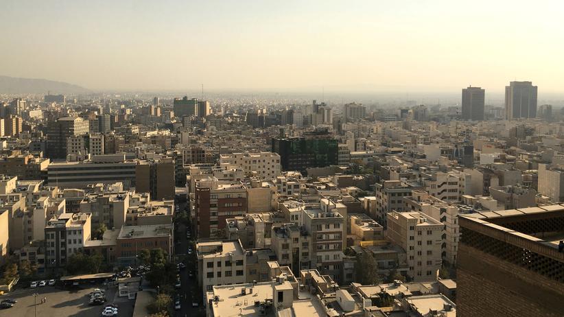 Iranischer Geheimdienst: Blick auf die iranische Hauptstadt Teheran (Symbolbild)