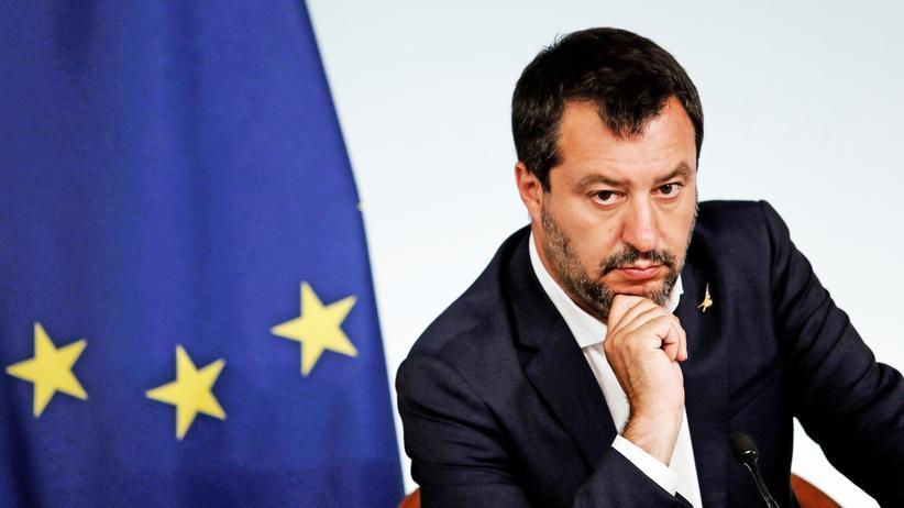 Lega: Matteo Salvini, italienischer Innenminister