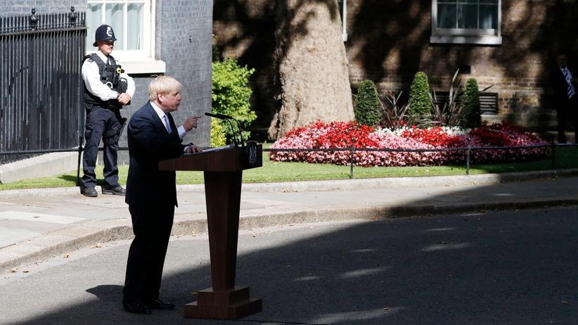 Großbritannien: Boris Johnson räumt auf