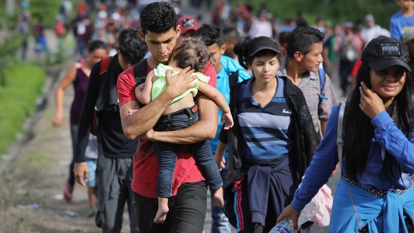 Migration: Mexiko und Honduras wollen Fluchtursachen bekämpfen
