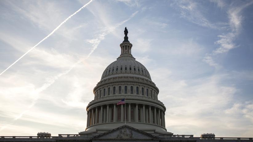 Saudi-Arabien: Das Kapitol in Washington D.C. ist der Sitz des Kongresses der Vereinigten Staaten von Amerika.