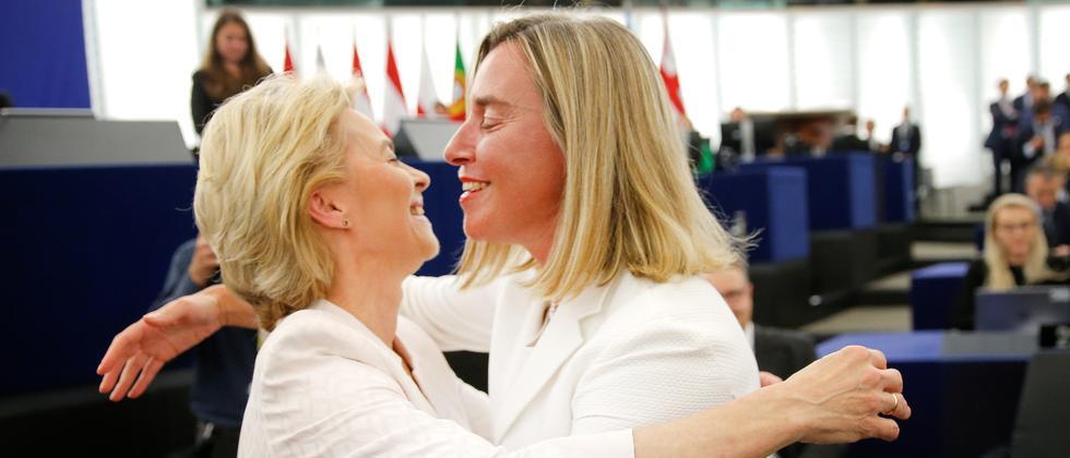 """Ursula von der Leyen: """"Endlich steht die erste Frau an der Spitze der EU-Kommission"""""""