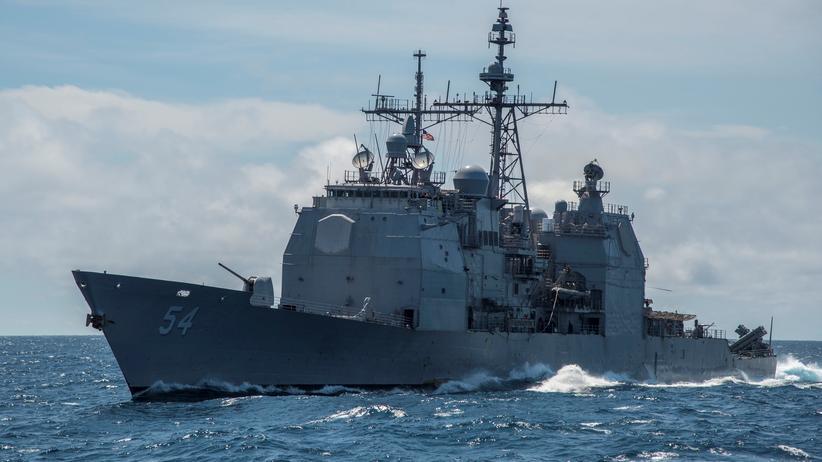 Konflikt mit China: Schiff der US-Marine im Südchinesischen Meer