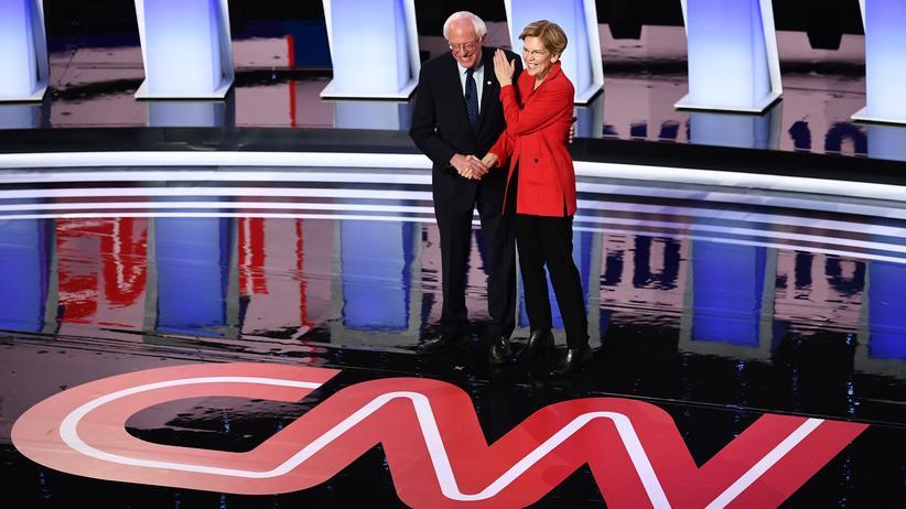 US-Präsidentschaftswahl 2020: US-Demokraten streiten sich in TV-Debatte um Krankenversicherung