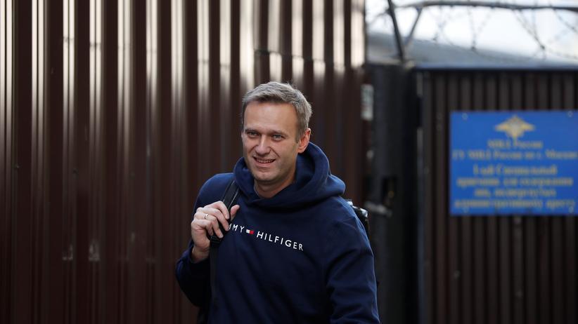 Alexej Nawalny erneut aus Gefängnis entlassen