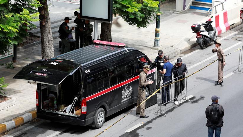 Bangkok: Nach den Explosionen wurden die Sicherheitsvorkehrungen in Bangkok verschärft.