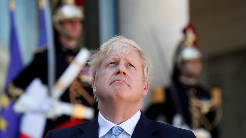 Boris Johnson: Der britische Premierminister Boris Johnson während eines Staatsbesuchs in Frankreich
