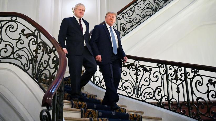 Brexit: USA und Großbritannien wollen raschen Handelsvertrag