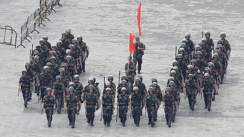 "Hongkong: China droht Aktivisten indirekt mit ""gewaltsamem Vorgehen"""