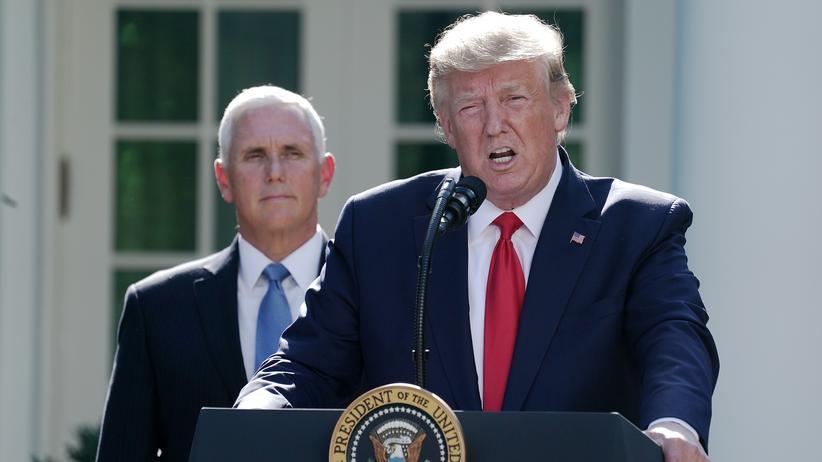 Hurrikan Dorian: Donald Trump sagt Reise nach Polen wegen Hurrikans ab