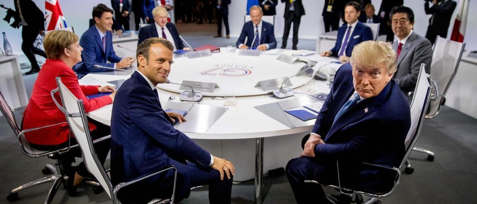 G7-Gipfel: Die Welt ist ohne Führung