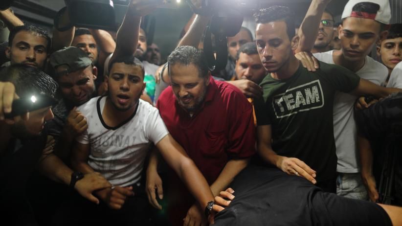Gazastreifen: Palästinensische Polizisten bei Explosion in Gaza getötet