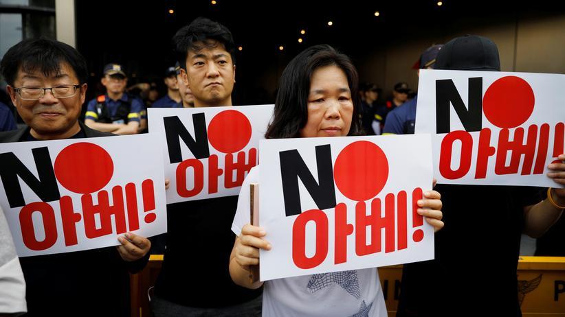 Handelskonflikt: Südkorea streicht japanische Handelsprivilegien